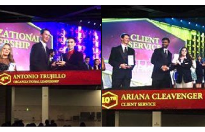San Tan Foothills High School FBLA Earns National Awards
