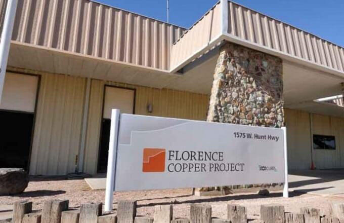 Florence Copper Moves Forward with Construction